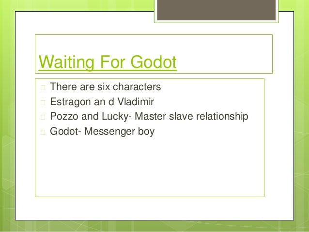 waiting for godot lucky and pozzo relationship poems