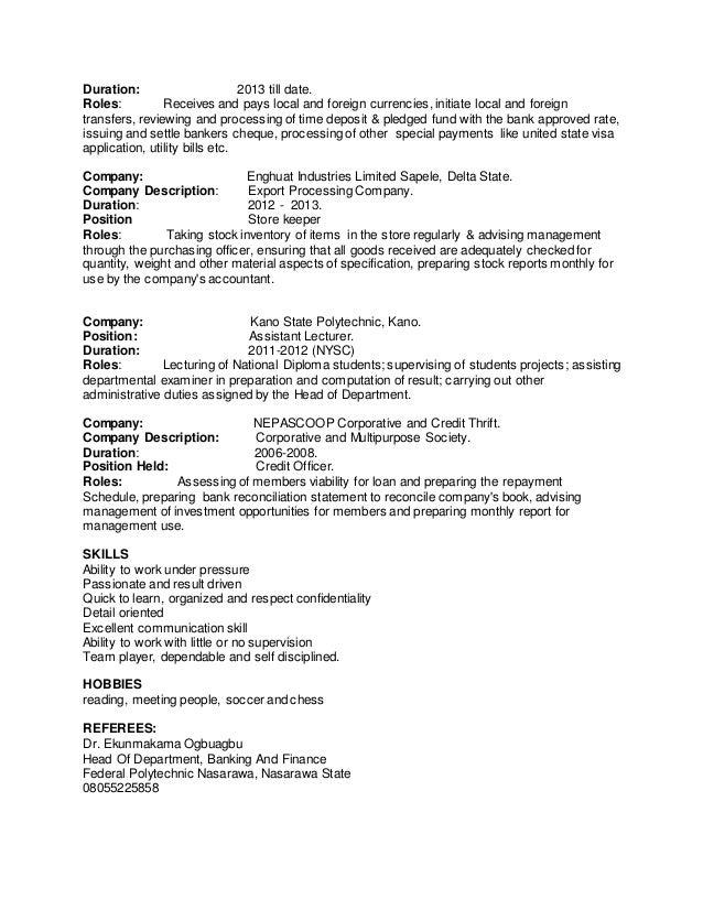 Abiroh Priestley Curriculum Vitae 1
