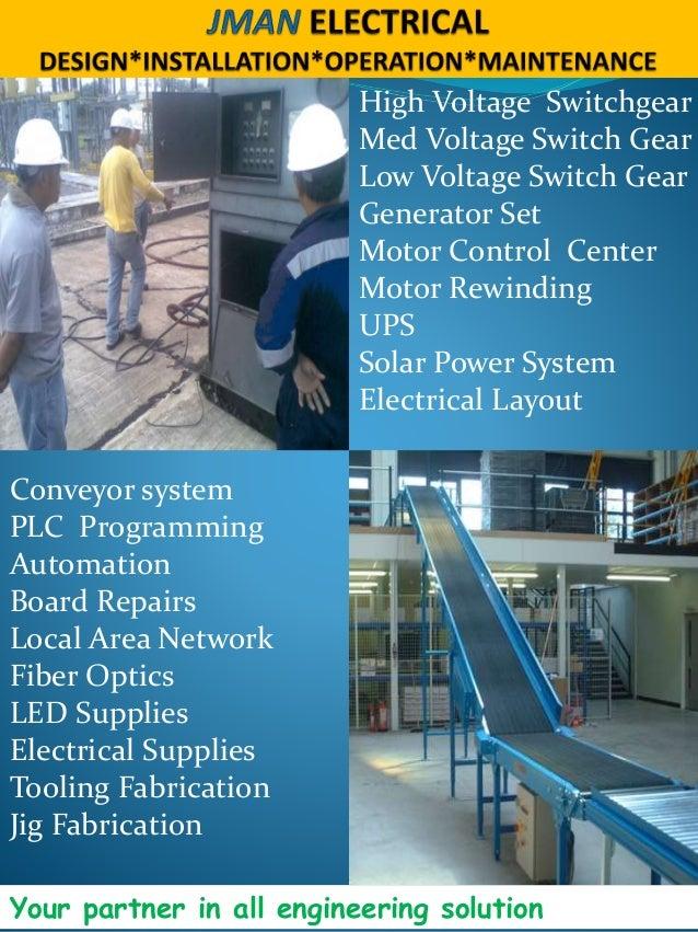 Jman brochure for Small electric motor repair