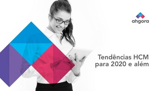 Tend�ncias HCM para 2020 e al�m
