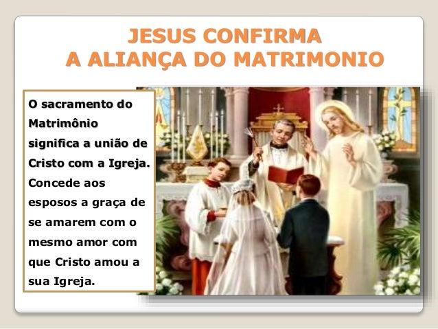 Matrimonio O Que é : º encontro sacramentos de cura e serviços