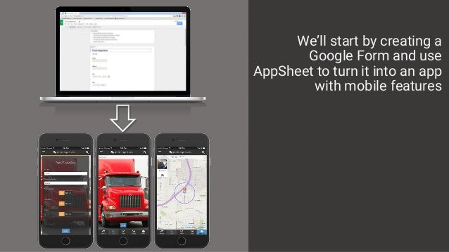 How to Make a Truck Inspection App