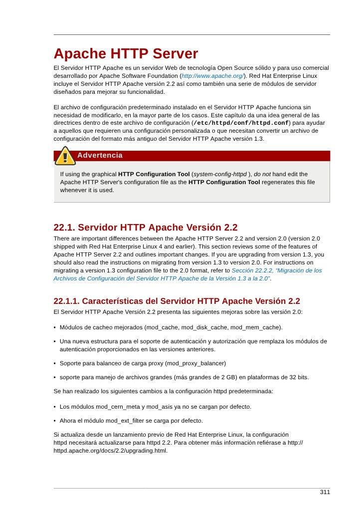Apache HTTP Server El Servidor HTTP Apache es un servidor Web de tecnología Open Source sólido y para uso comercial desarr...