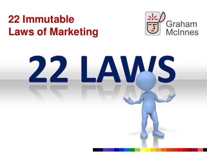 22 Immutable <br />Laws of Marketing<br />22 Laws<br />