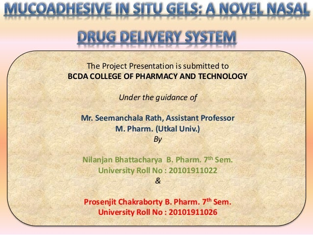 The Project Presentation is submitted to  BCDA COLLEGE OF PHARMACY AND TECHNOLOGY  Under the guidance of  Mr. Seemanchala ...