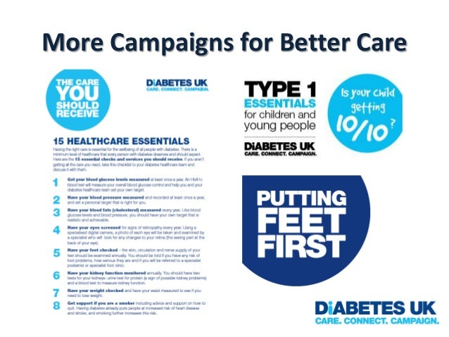 More Campaigns for Better Care