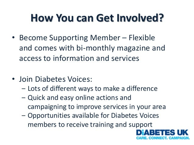 How You can Get Involved? • Become Supporting Member – Flexible and comes with bi-monthly magazine and access to informati...