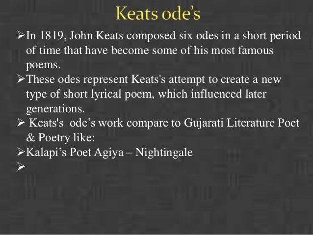 Theme Of Odes John Keats