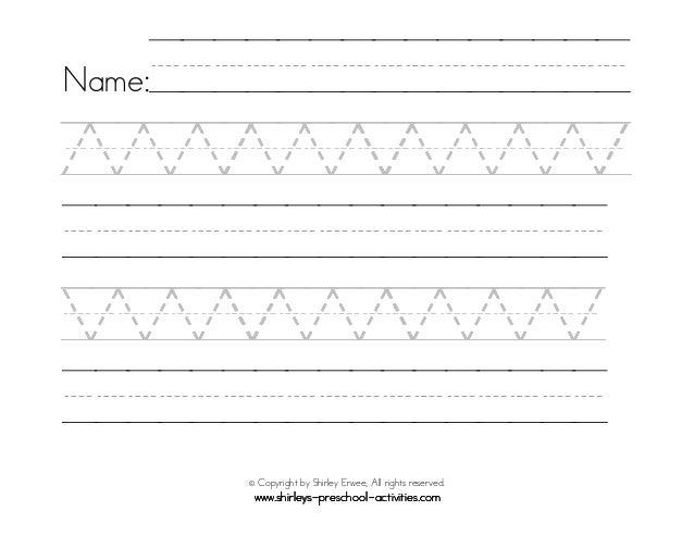 22 preschool printable writing patterns. Black Bedroom Furniture Sets. Home Design Ideas