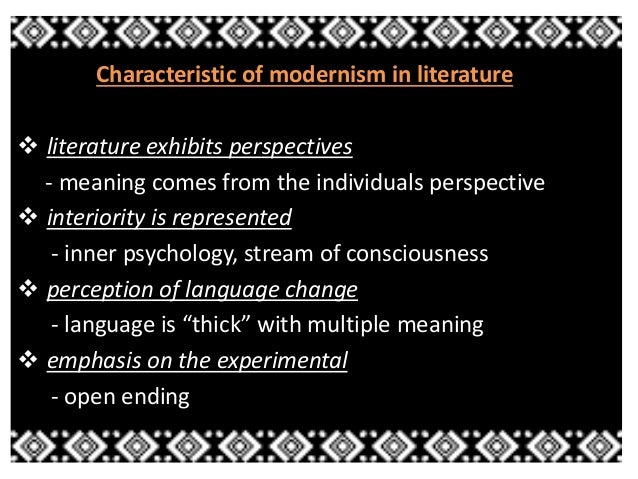 age of modernism Modernism timeline back next  how it all went down  1897: sigmund freud publishes studies in hysteria with josef breuer, launching the age of psychoanalysis.