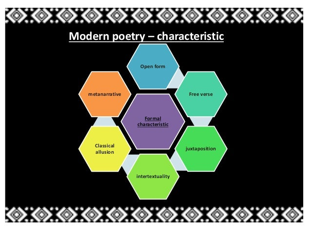 General characteristic of Modernist Age