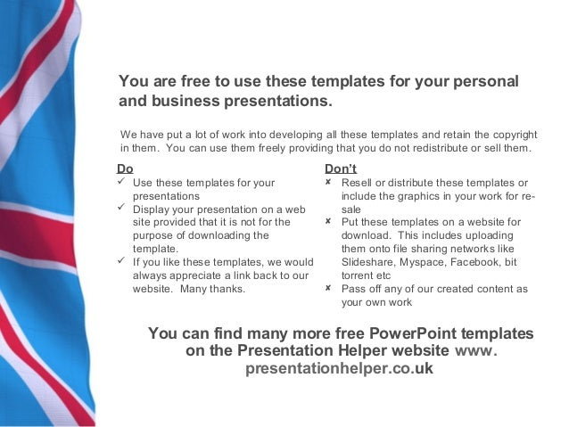 Power point templates 22 uk flag 6 toneelgroepblik Image collections