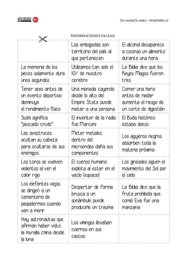 Deverdadlosabes–ProfeDeEle.es  INFORMACIONES FALSAS:  Las embajadas son territorio del país al que pertenecen  El alc...