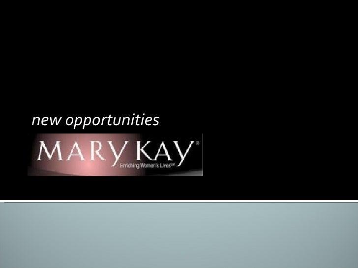 new opportunities 26. 03.2010
