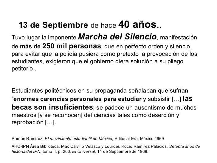 Tuvo lugar la imponente   Marcha del Silencio , manifestación de  más de  250 mil personas , que en perfecto orden y silen...
