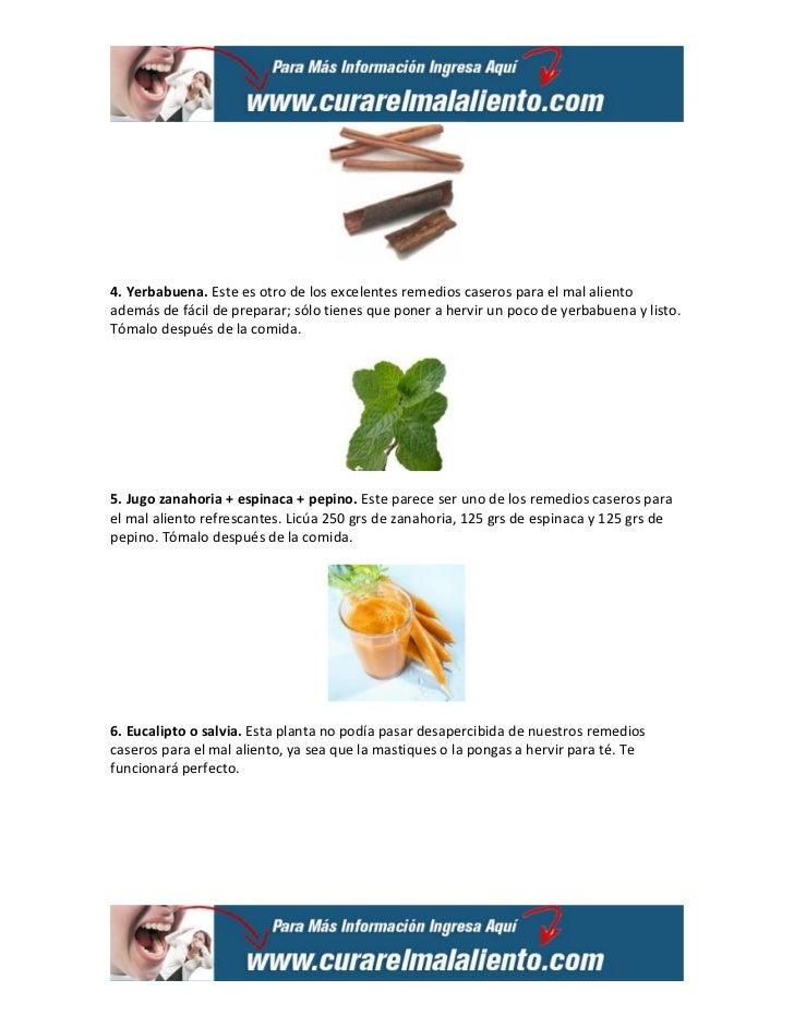10 remedios caseros para el mal aliento Slide 2