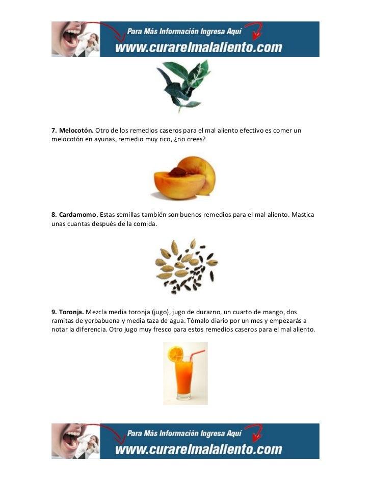 10 remedios caseros para el mal aliento Slide 3
