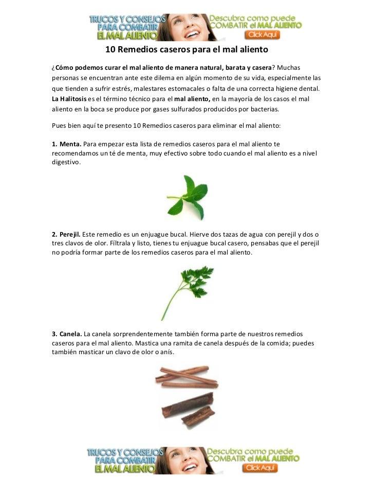 10 remedios caseros para eliminar el mal aliento for Productos para eliminar pececillos de plata