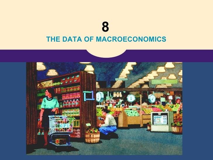 8   THE DATA OF MACROECONOMICS