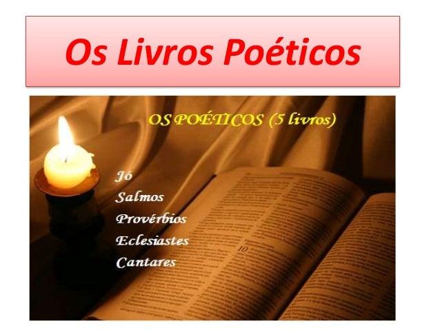 Os Livros Poéticos
