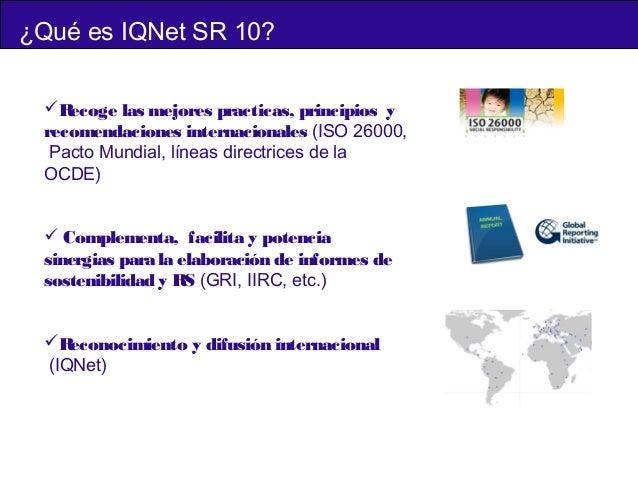 Ponencia \u201cSR 10 Modelo internacional de gestión para integrar la resp\u2026