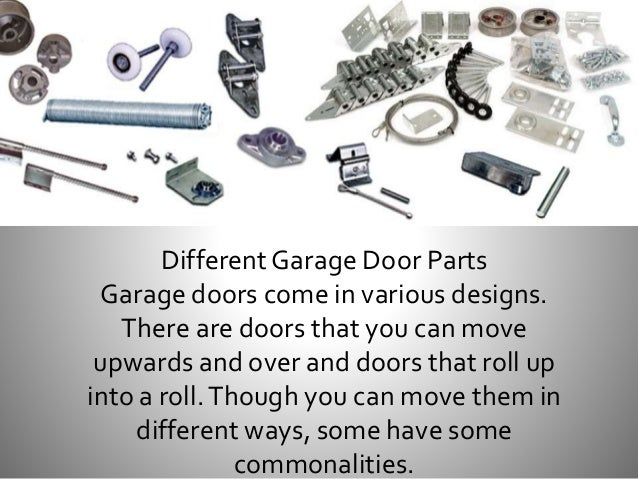 Know the Different Garage Door Parts and Repairs in Melbourne