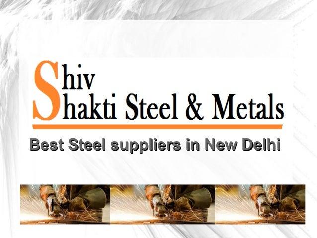 I Best Steel suppliers in New DelhiBest Steel suppliers in New Delhi