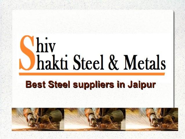 I Best Steel suppliers in JaipurBest Steel suppliers in Jaipur