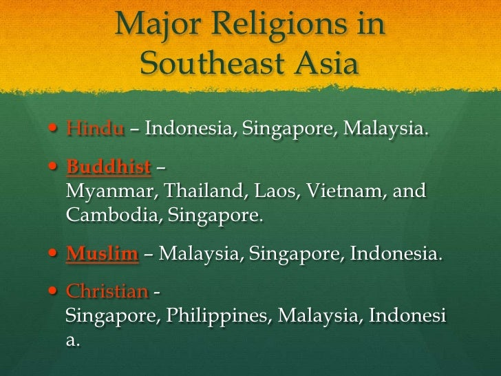 23 1 Southeast Asia Cultures and History
