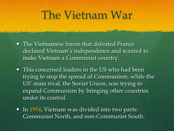 why did the french leave vietnam in 1954 essay 11 french indochina/vietnam (1941-1954) 1954 french and vietminh representatives signed a ceasefire agreement in geneva on july 21, 1954.