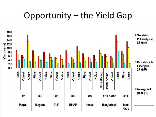 Opportunity – the Yield Gap