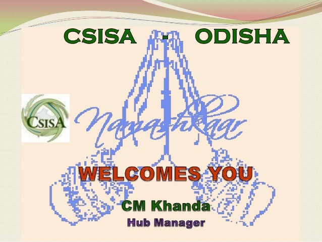 Planning and initial activities in Odisha