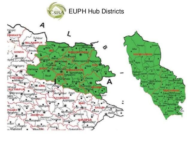 EUPH Hub Districts