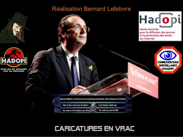 Réalisation Bernard Lefebvre Caricatures en vrac