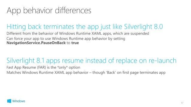 23 silverlight apps on windows phone 8 1