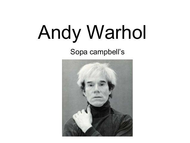 Andy WarholSopa campbell's