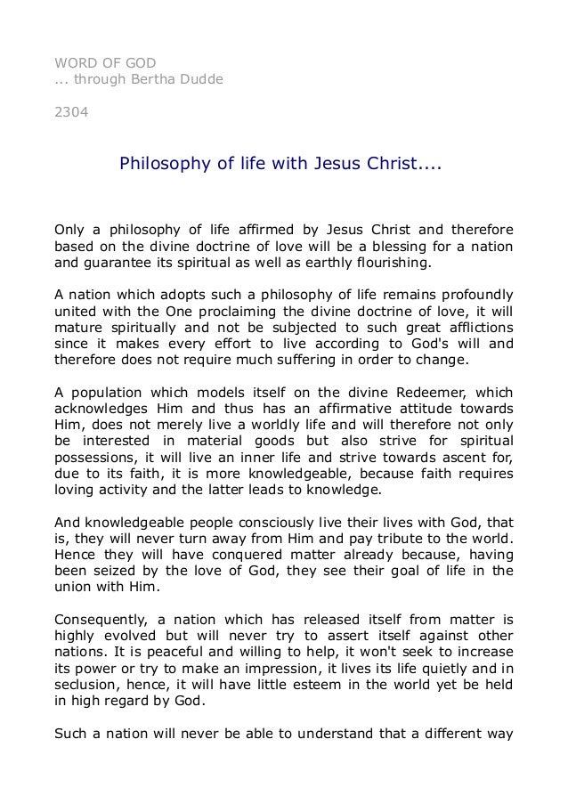 Jesus christ essay