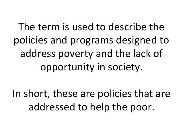 2305 Social Welfare