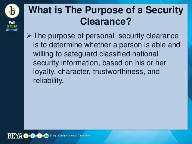 secret security clearance background check