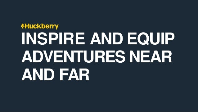 INSPIRE AND EQUIP ADVENTURES NEAR AND FAR