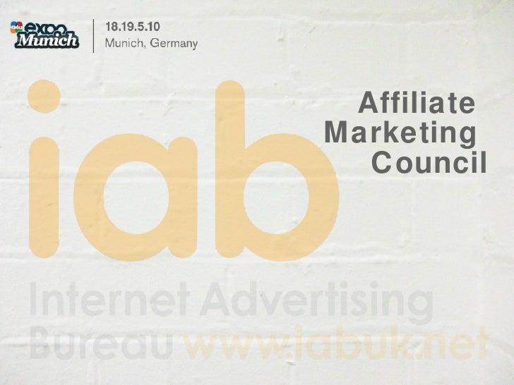 Affiliate  Marketing  Council
