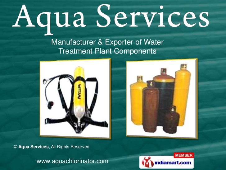 Manufacturer & Exporter of Water                  Treatment Plant Components© Aqua Services, All Rights Reserved          ...
