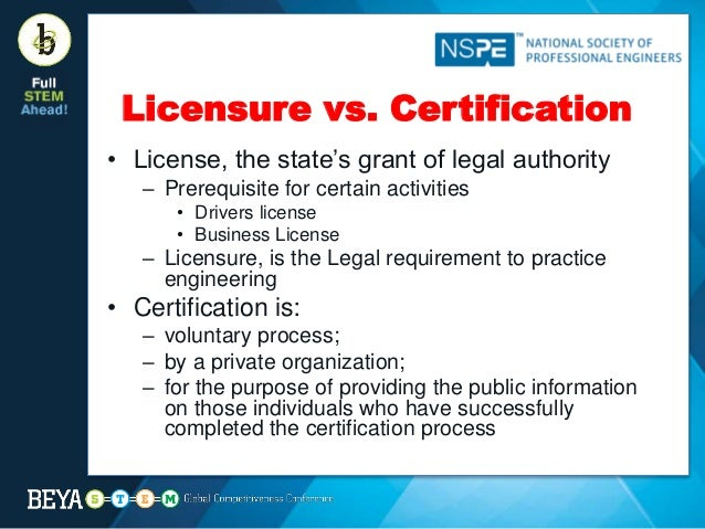 Licensure as a Professional Engineer -- Its Value and the Steps to Ta…