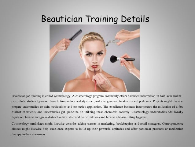 Beauty Fashion Job Training: Requirements To Be A Beauty Professional