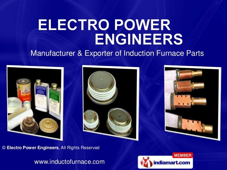 Manufacturer & Exporter of Induction Furnace Parts<br />