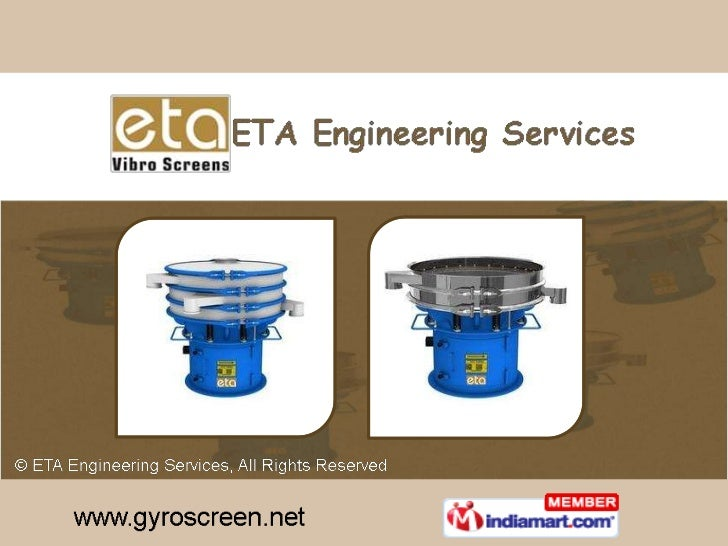 Manufacturer & Exporter of Vibration-Based Separation and Process Equipment<br />