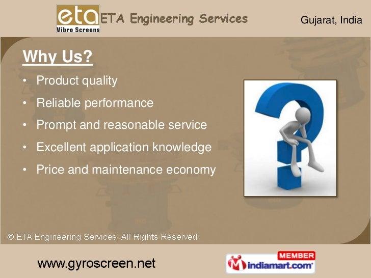Vibrating Equipment by ETA Engineering Services Gandhinagar Slide 3