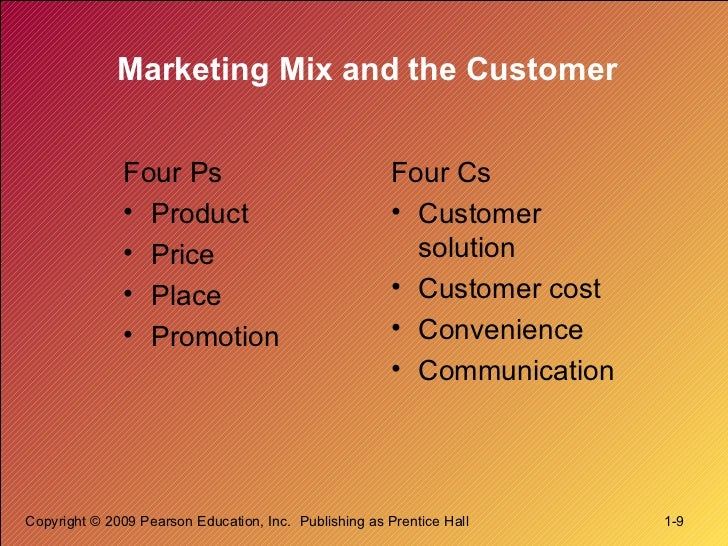 defining marketing for the 21st century Marketing management introduces the concept that companies and firms must   february, 6, chapter 1: defining marketing for the 21 st century, class starts.
