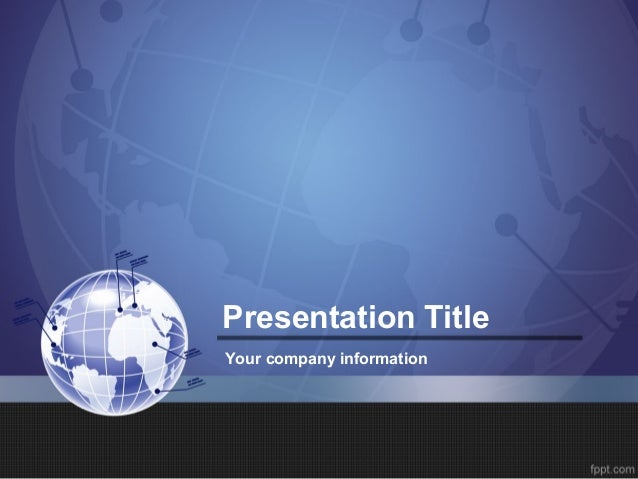 themes for business presentation
