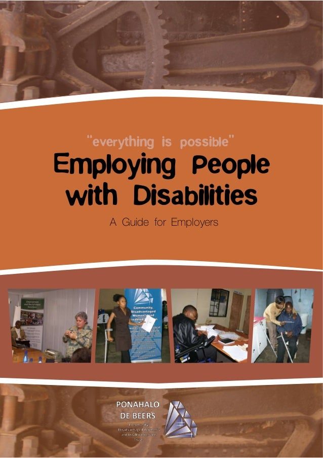 "Employing People with Disabilities ""everything is possible"""